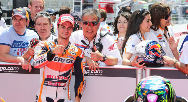 Дани Педроса, пилот Repsol Honda Team, MotoGP 2014