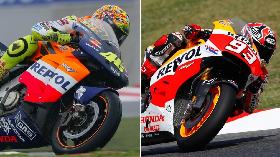 100 побед HRC в современной эпохе MotoGP 2002-2014 гг.