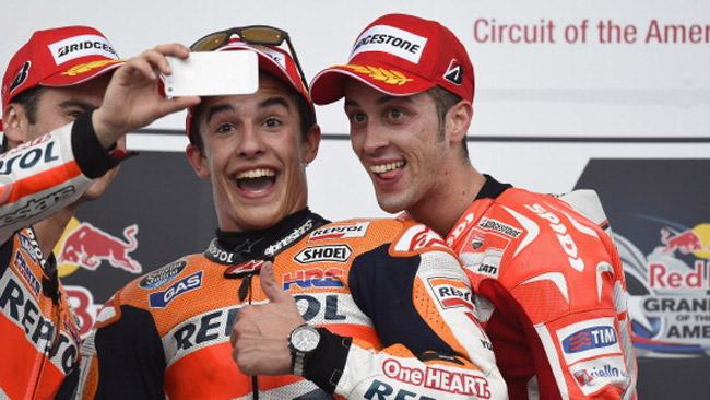 Марк Маркес и Андреа Довициозо, MotoGP 2014