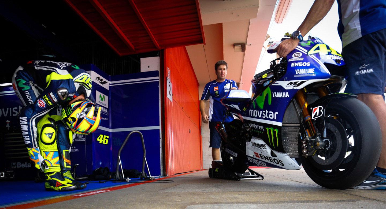 Результаты первого дня официальных тестов MotoGP в Каталонии 2014