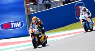 Финиш Moto2 Гран-При Италии 2014: Рабат и Салом