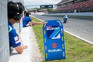 Тесты Suzuki XRH-1 в Каталонии