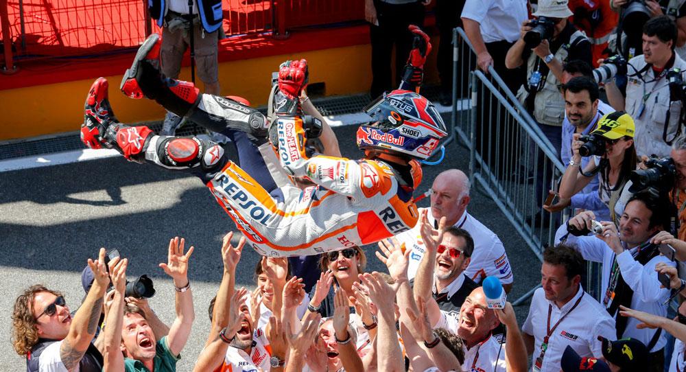 Марк Маркес: победа в гонке MotoGP Гран-При Италии 2014