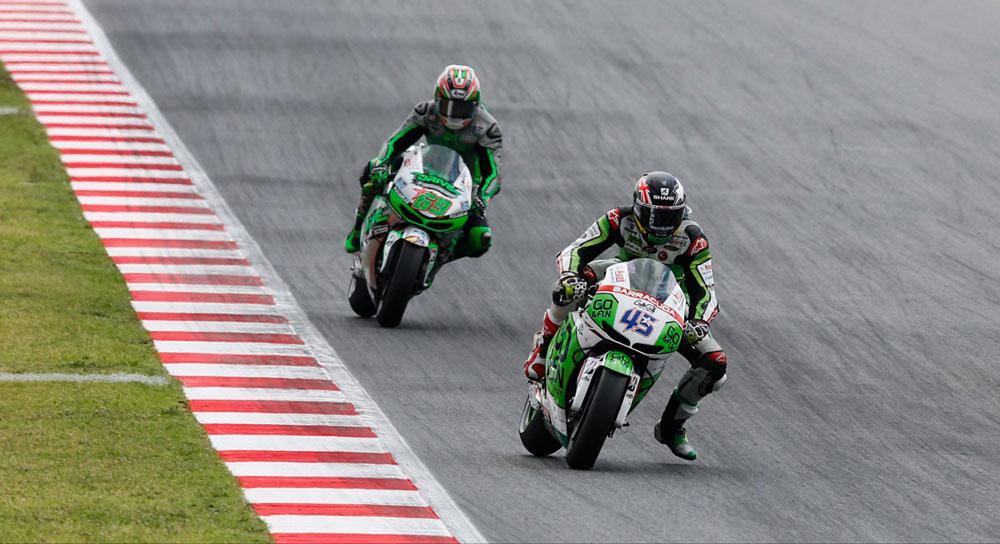 Скотт Реддинг и Ники Хэйден, MotoGP 2014