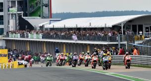 Старт MotoGP Гран-При Германии 2014