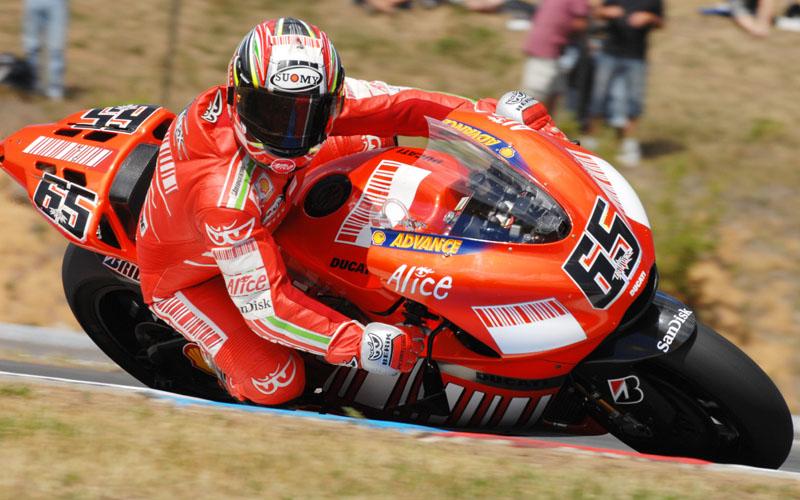 Лорис Капиросси, Ducati