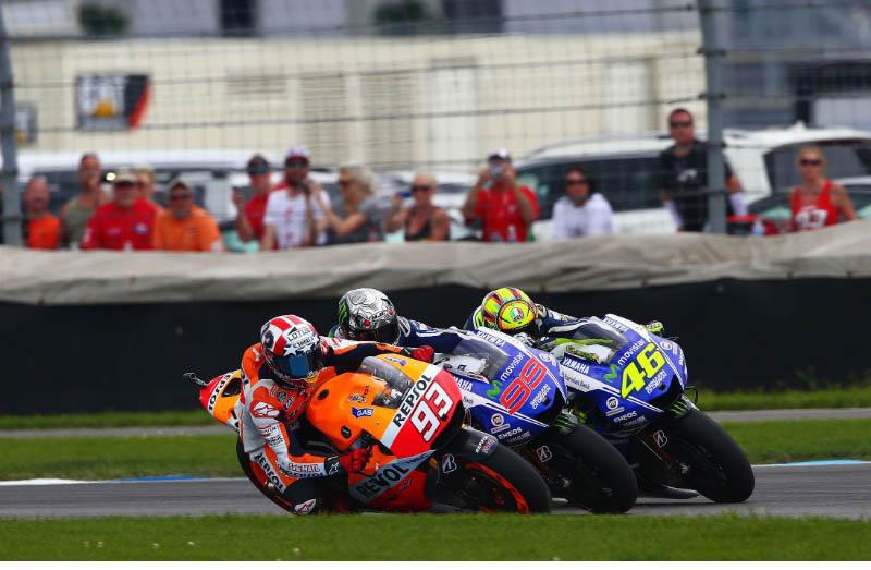 Маркес, Лоренсо, Росси, MotoGP 2014