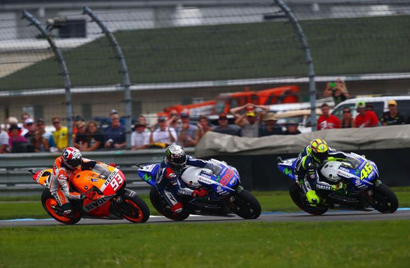 Маркес, Лоренцо, Росси, MotoGP 2014