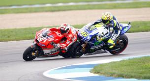 Андреа Довициозо и Валентино Росси, MotoGP 2014