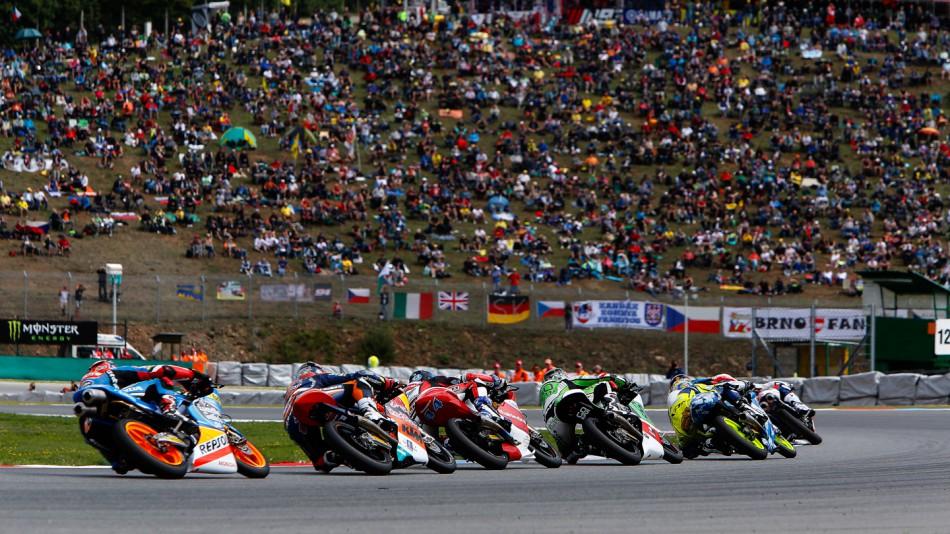 Гонка Moto3 Гран-При Чехии 2014