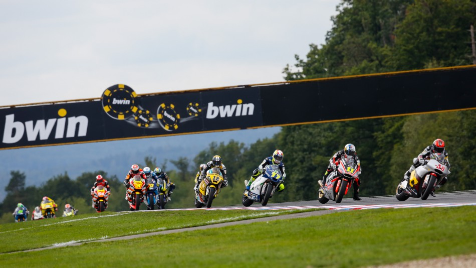Гонка Moto2 Гран-При Чехии 2014