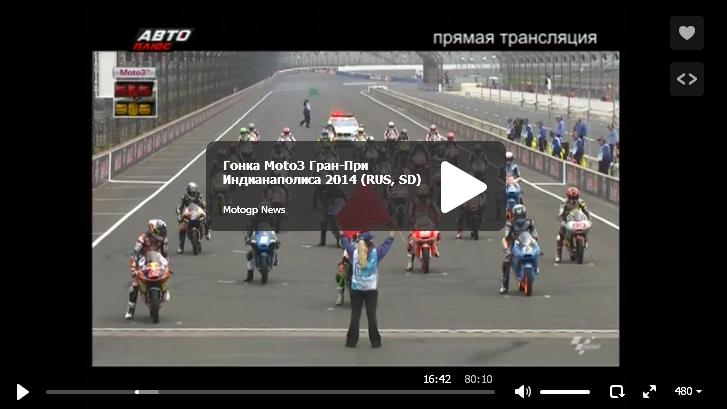 Гонка Moto3 Гран-При Индианаполиса 2014
