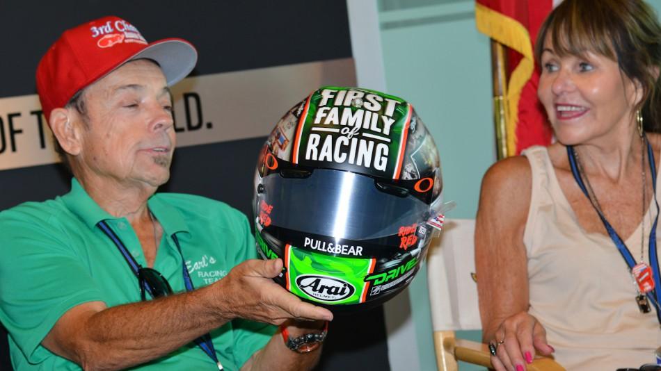 Шлем Ники Хэйдена к Гран-При Индианаполиса