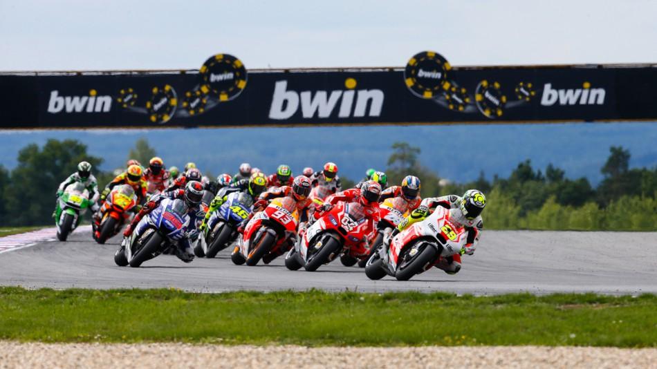 Гонка MotoGP Гран-При Чехии 2014