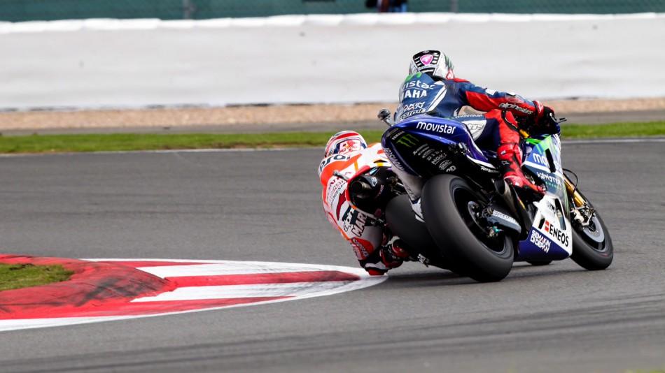 Марк Маркес и Хорхе Лоренсо, MotoGP 2014