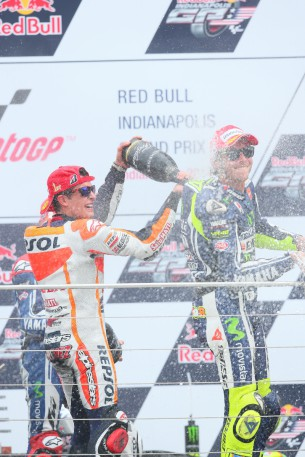 Марк Маркес и Валентино Росси, MotoGP 2014
