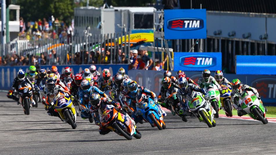 Гонка Moto3 Гран-При Сан-Марино 2014 (ENG, HD)