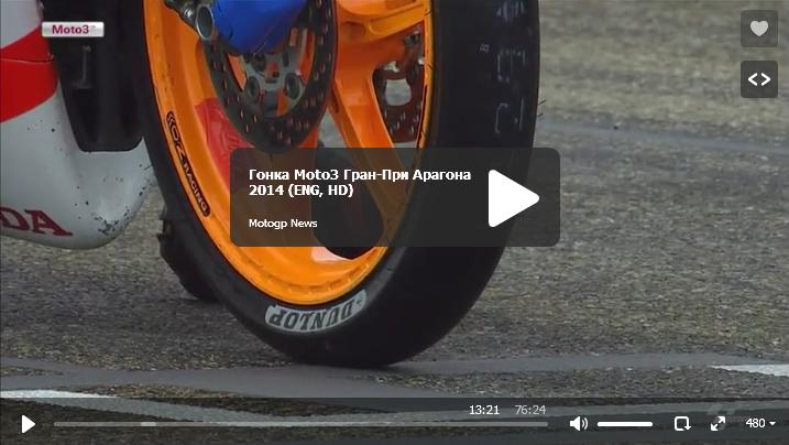 Гонка Moto3 Гран-При Арагона 2014