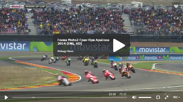 Гонка Moto2 Гран-При Арагона 2014
