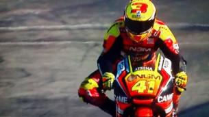 Алекс Эспаргаро посвящает шлем своему другу