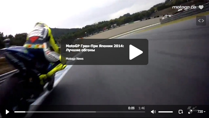 MotoGP Гран-При Японии 2014: Лучшие обгоны