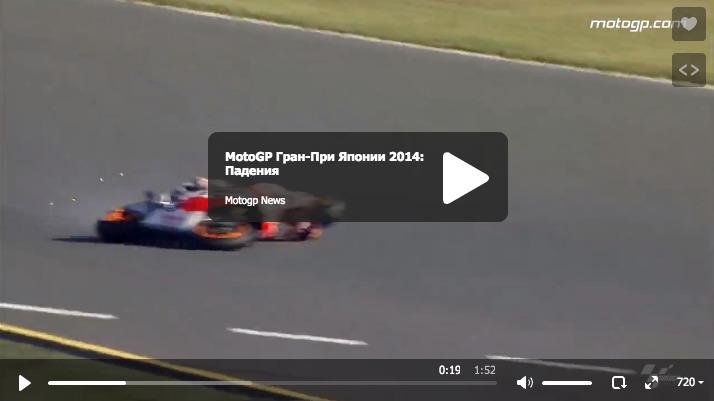MotoGP Гран-При Японии 2014: Лучшие моменты