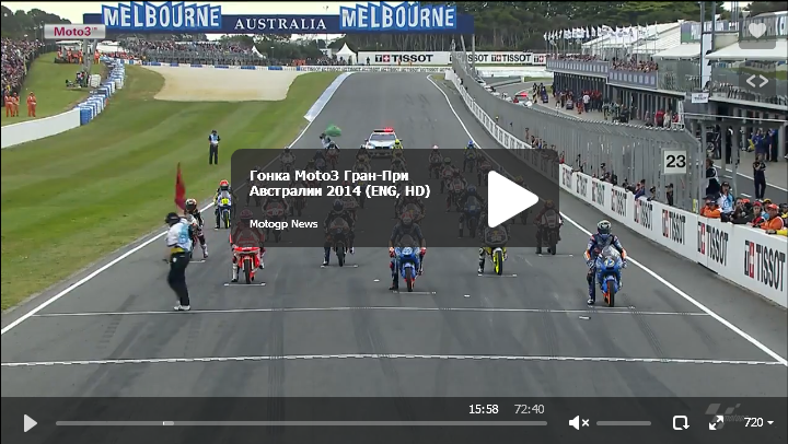 Гонка Moto3 Гран-При Австралии 2014