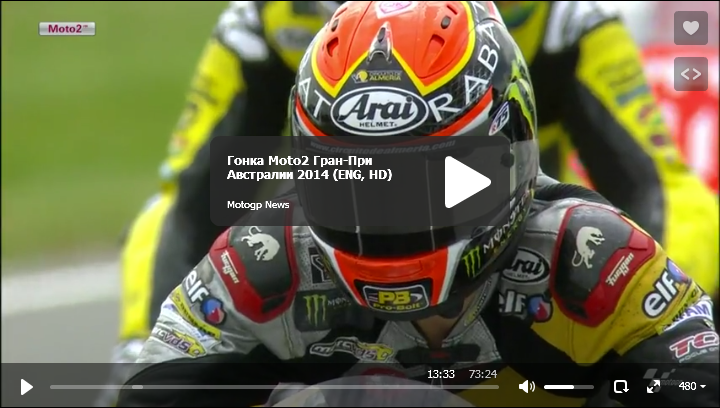 Гонка Moto2 Гран-При Австралии 2014