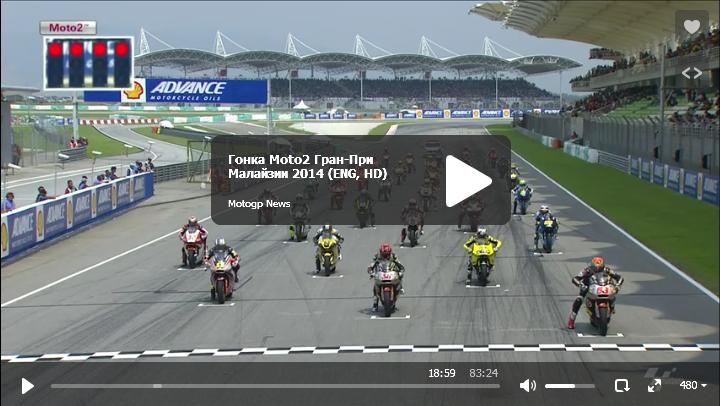Гонка Moto2 Гран-При Малайзии 2014