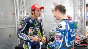 Валентино Росси и Хорхе Лоренцо, MotoGP 2014