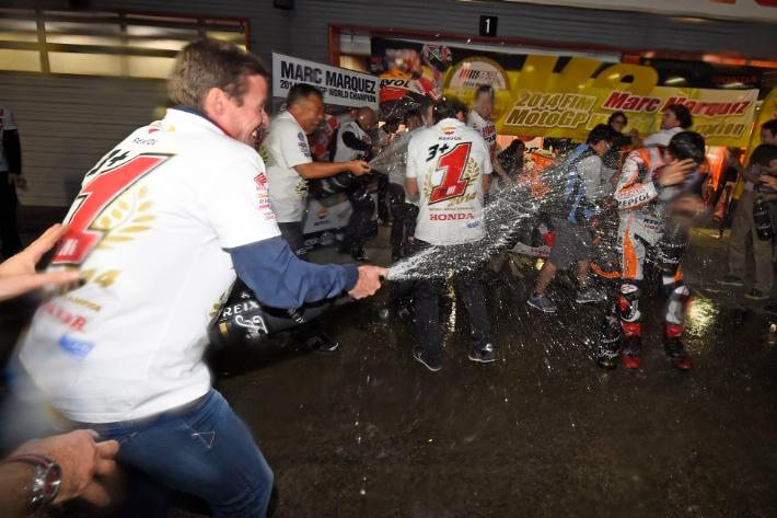 Repsol Honda отпраздновала второй титул Марка Маркеса