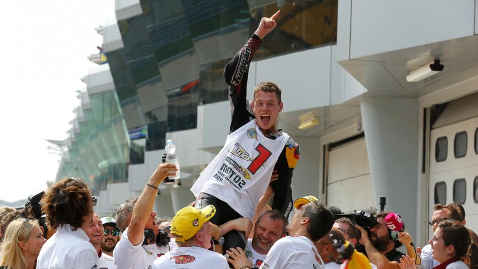 Эстеве Рабат - чемпион мира Moto2 2014 года!