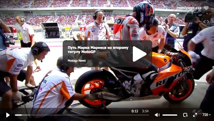 Путь Марка Маркеса ко второму титулу MotoGP