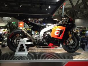 Aprilia представила публике свой прототип MotoGP