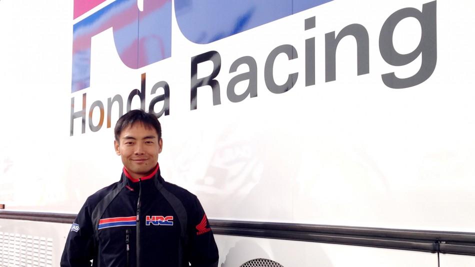 Хироши Аояма будет в 2015 году тест-пилотом HRC