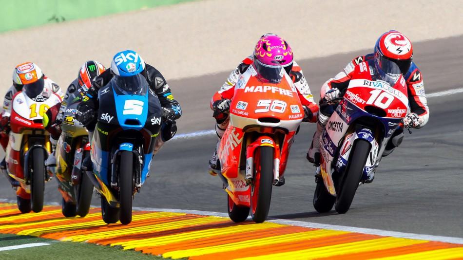 Гонка Moto3 Гран-При Валенсии 2014