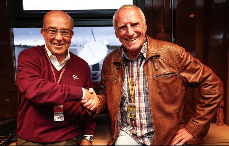 Дитрих Матешиц, владелец Red Bull, и Кармело Эспелета