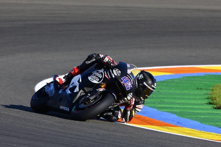 Первые шаги Скотта Реддинга на Marc VDS Honda
