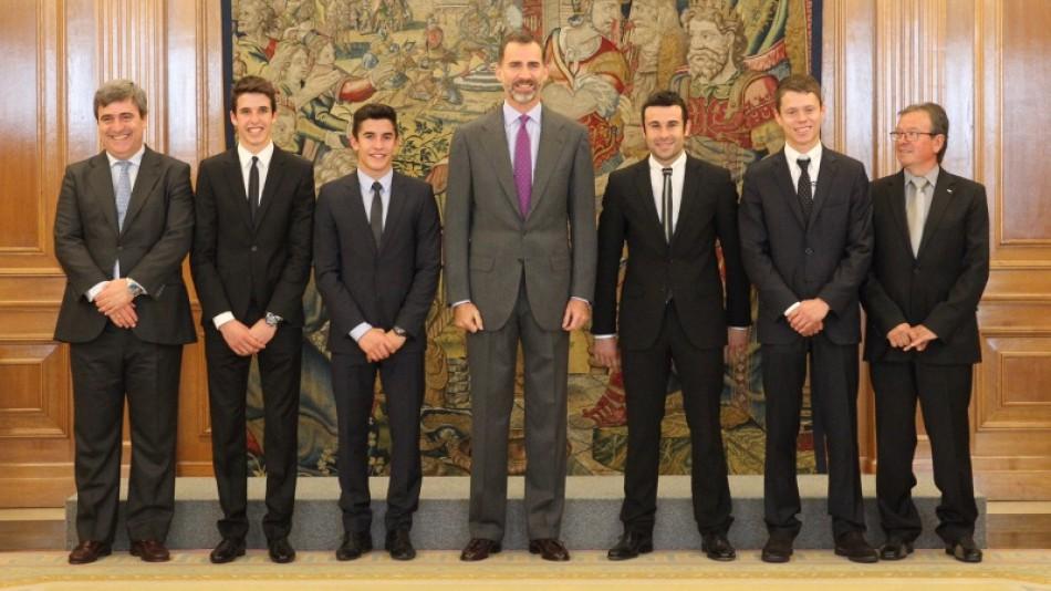 Король Испании встретился с братьями Маркесами и Рабатом