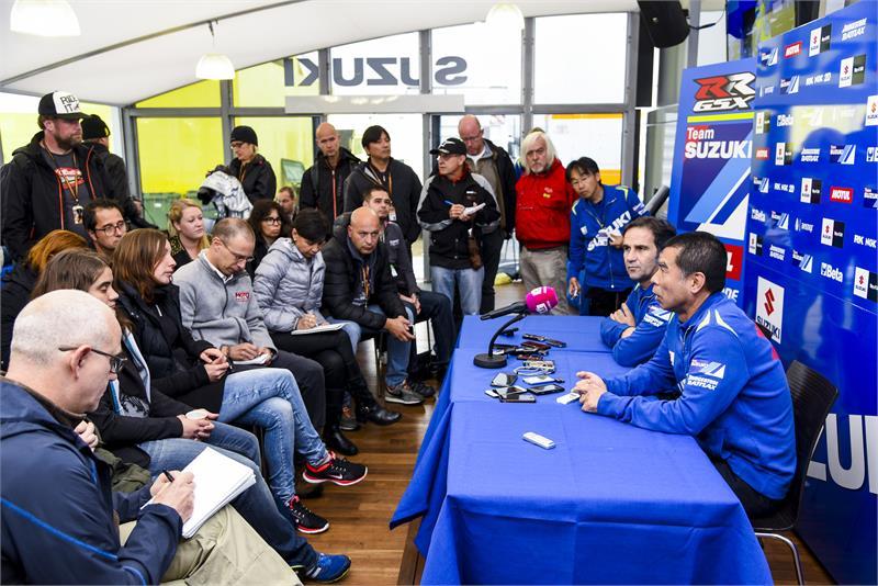 Suzuki, тесты в Валенсии-2014
