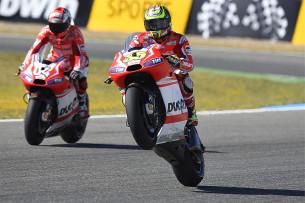Андреа Довициозо и Кэл Кратчлоу, Ducati Team, MotoGP 2014