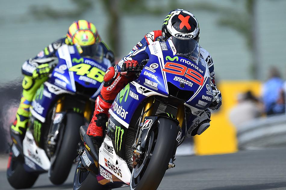 Хорхе Лоренцо и Валентино Росси, Movistar Yamaha MotoGP