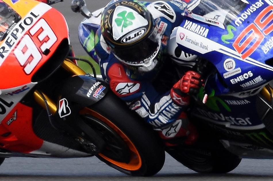 Хорхе Лоренсо и Марк Маркес, MotoGP 2014