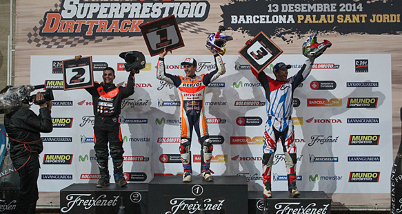 Марк Маркес выиграл гонку Superprestigio Dirt Track