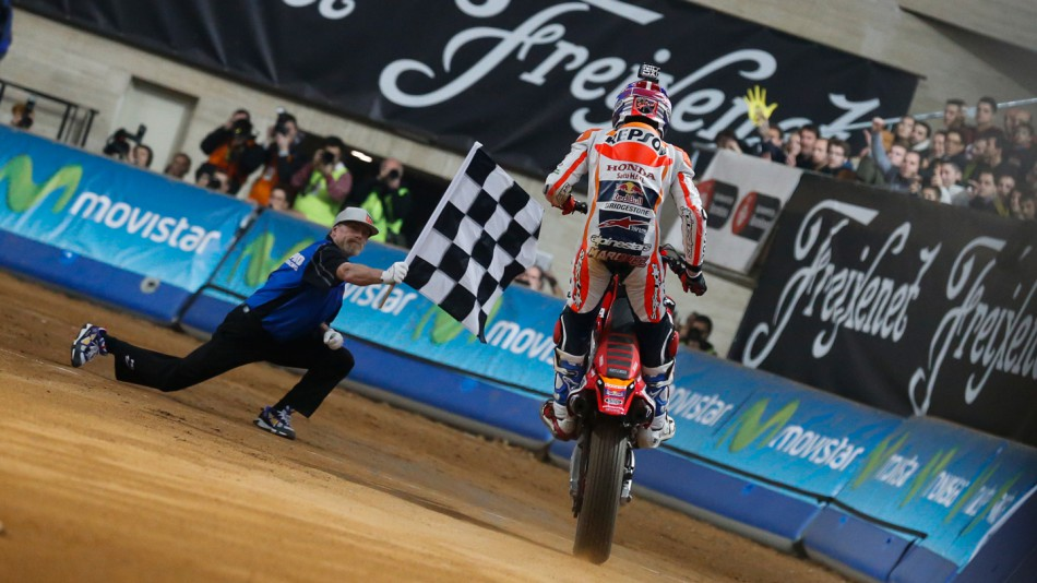Марк Маркес на Superprestigio Dirt Track