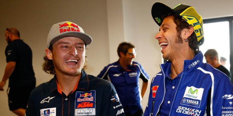 Джек Миллер и Валентино Росси, MotoGP 2014
