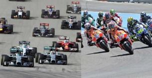 F1 обходят MotoGP в плане интернациональности чемпионата