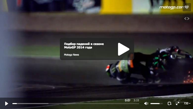 Подбор падений в сезоне MotoGP 2014 года