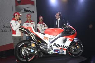Презентация мотоцикла Ducati GP15 MotoGP 2015 года