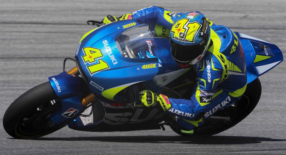 Алейш Эспаргаро, Suzuki Team, MotoGP 2015